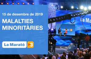L'edició d'enguany tindrà lloc el diumenge 15 de desembre. Font: TV3. Font: Font: La Marató de TV3.