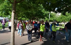 Lleida caminarà pel voluntariat. Font: FCVS