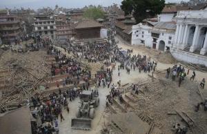 Kathmandú després del terratrèmol