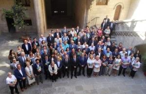 Imatge de la notícia Organitzacions, entitats i Govern signen el Pacte per a la Reforma Horària