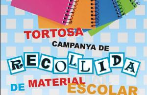 Imatge de la notícia Campanya de recollida de material escolar a Tortosa
