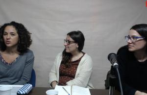 Les tres convidades al webinar a l'estudi