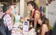 El Risell va presentar l'enquesta sobre dones joves i ESS a la FESC 2018 Font: XES (Flickr)