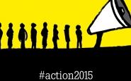 Imatge simbòlica del moviment Action 2015. Font: www.worldvision.org.uk
