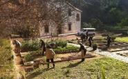 La masia del Jardí Botànic Històric és un espai emblemàtic per a l'associació Font: Associació d'Amics del Jardí Botànic