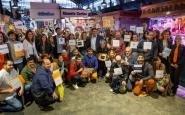 Acte de presentació de la 9a edició de la Tapa Solidària. Font: Casal dels Infants