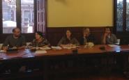 Reunió d'Stop Mare Mortum al Parlament. Font: Stop Mare Mortum