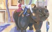 Detall d'una de les il·lustracions que apareixen al calendari d'enguany Font: Cristina Prieto Salcedo