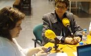 Rita Marzoa al capdavant de l'Espai Diàlegs del Marketplace 2014