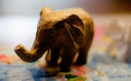 Elefant protagonista de la novel·la de Saramago. Font: Solomon.gr