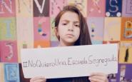 Imatge de la nena protagonista del vídeo de la campanya. Font: Twitter