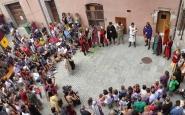 Festival medieval Terra de Trobadors. Font: Picasa de l'Ajuntament de Castelló d'Empúries