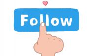 Imatge gràfica per fer-se nou seguidor. Font: Pixabay