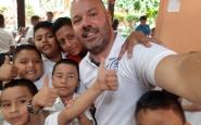 Tarrés en un dels voluntariats que va fer a Centreamèrica. Font: Gerard Tarrés