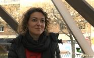 Maria Campuzano, portaveu de l'Aliança contra la Pobresa Energètica. Font: LaviniaNext