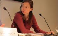 Pascale Coissard,  portaveu de la Comissió Catalana d'Ajuda al Refugiat