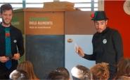 'Som gent de profit' posa a disposició de les escoles de primària i secundària (de 8 a 14 anys), tallers per prendre consciència del malbaratament alimentari Font: Som Gent de Profit