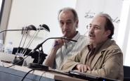 A l'esquerra de l'imatge, Xavier Masllorens. Font. Educació Sense Fronteres