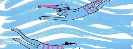 L'il·lustrador català Ignasi Blanch és l'autor del nou disseny del 'Mulla't'. Font: Ignasi Blanch