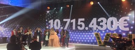 La Marató de TV3 assoleix un nou rècord de recaptació. Font: La Marató