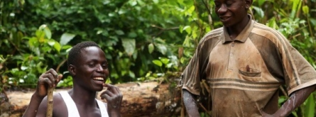 Justícia i Pau per donar a conèixer la relació que hi ha entre els productes tecnològics i els conflictes armats i violacions de drets humans a l'Àfrica Font: Justícia i Pau