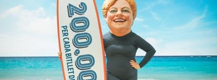 Les entitats no lucratives solen vendre butlletes i participacions de loteries com a manera de finançar-se.