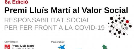 6a edició del Premi Lluís Martí al Valor Social