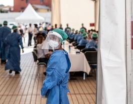 Des del FCCD es fa una crida als ajuntaments per col·laborar en la campanya d'emergència. Font: World Bank Photo Collection. Llicència Creative Commons
