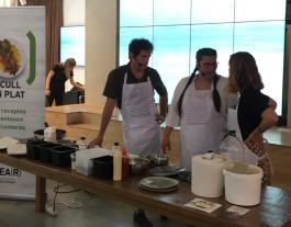 Una experiència gastronòmica col·laborativa i solidària. Font: CCAR