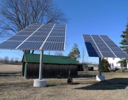 La transició energètica pot començar per la producció d'energia verda.  Imatge de Christine. Llicència d'ús CC BY-SA 2.0 Font: Christine. Llicència d'ús CC BY-SA 2.0