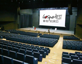L'Auditori del Fòrum de Barcelona acollirà el GospelFest. Font: Caritas Barcelona