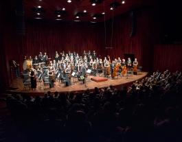 La JOSB en una actuació a l'Auditori de Barcelona. Font: JOSB