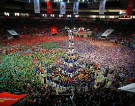 Els Capgrossos de Mataró han estat la colla revelació de la jornada Font: Concurs de Castells