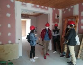 Joves de l'entitat Punt de referència podran accedir a un dels pisos del projecte Habitatge Cooperatiu La Balma, al Poble Nou.  Font: Sostre Cívic