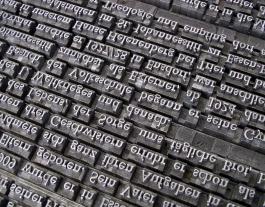 Un joc de tipografies d