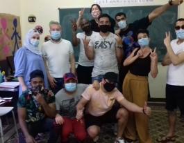 La Fundació Bayt Al-Thaqafa necessita voluntariat per als cursos de castellà. Font: Fundació Bayt Al-Thaqafa