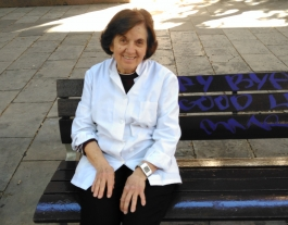 Marisa Toral porta més de 20 anys ajudant persones en risc d'exclusió. Font: Laura Morral