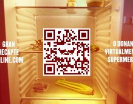 El Gran Recapte permetrà fer donacions econòmiques a supermercats i a través de la pàgina web. Font: Banc dels Aliments