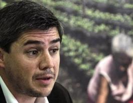 jaime Atienza és el responsable de finançament d'Oxfam Intermón. Font: Diario.es