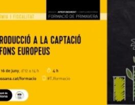 #TJformació: Introducció a la captació de fons europeus