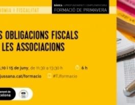 #TJformació:  Les obligacions fiscals de les associacions