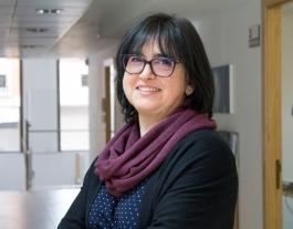 Pilar Polo, encarregada de les relacions institucionals de la Fundació Vicki Bernadet. Font: Fundació Vicki Bernadet.
