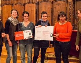 El premi, recursos econòmics i suport institucional Font: Ajuntament de Barcelona