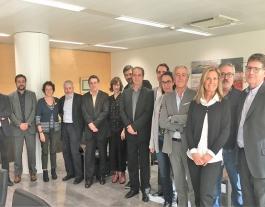Jurat del Premis Solidaris ONCE Catalunya 2018 Font: ONCE Catalunya