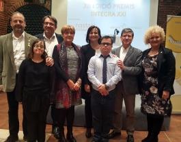 Guardonats als premis INTEGRA XXI a la darrera edició Font: Font: Down Lleida