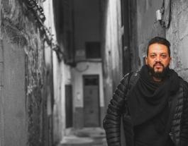Karim Sabni, portaveu de Girona Acull. Font: Karim Sabni