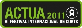 Logotip VI Festival Internacional de Curtmetratges Actua