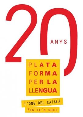 Logotip de la Plataforma per la llengua
