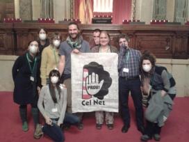 La Plataforma Cel Net al Parlament de Catalunya