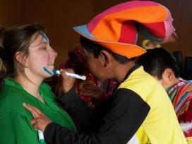 Voluntària en un projecte a Perú